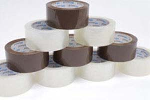 2x110 yds 1.8mil Clear Box Sealing Tape